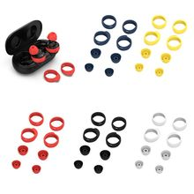 Earbuds Cover Earplug Protective Cover Soft Silicone Skin Earpiece Replacement for Samsung Galaxy Buds Bluetooth Earphone Access 1 pairs silicone replacement ear buds tips for samsung galaxy buds rm 170 earphone replacement earpads eargels
