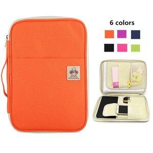 Image 2 - 다기능 방수 a4 옥스포드 문서 파일 폴더 가방 데스크 주최자 스토리지 비즈니스 여행 가방 남성 여성 선물