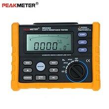 Peakmeter MS2302 Digital Earth ความต้านทานแรงดันไฟฟ้า Tester Meter