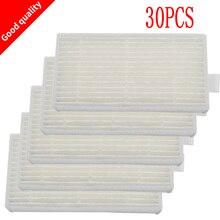 30 adet elektrikli süpürge filtresi hepa filtreleri için CHUWI V3 iLife X5 V5 V3 + V5PRO ECOVACS CR130 cr120 CEN540 CEN250 elektrikli süpürge parçaları