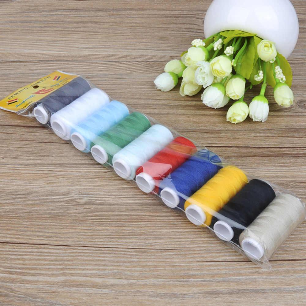 糸ミシン糸刺繍工業用ミシンキットセット用品 Diy のアパレル生地 200 ヤード美術工芸