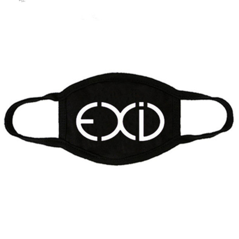 Mainlead KPOP GOT7 Mouth Mask Cotton EXID Street Antidust Face Respirator Winner Muffle