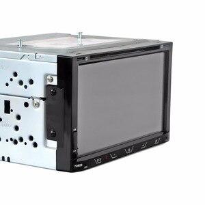 Image 4 - HEVXM 7080B 7 дюймовый автомобильный DVD плеер FM Радио BT DVD плеер обратный приоритет многофункциональный автомобильный DVD плеер