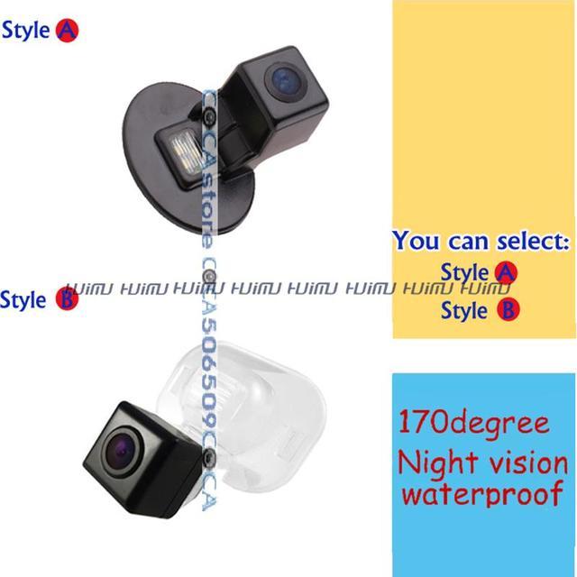 wire wireless car camera for KIA FORTE Hyundai Verna Sloaris Sedan 2009/2010/2011/2012/2013 parking assistance night vision