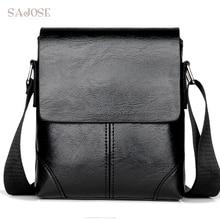 Men Crossbody Bag Fashion Leather Shoulder Bag