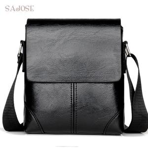 Men Crossbody Bag Fashion Leather Should