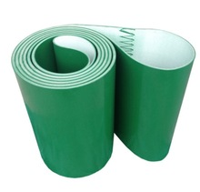Perimeter:3000mmx100mmx3mm Green Industrial Transmission Line Belt Conveyor PVC Belt(Can Customized Size)