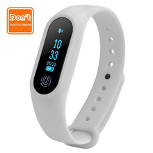D.W.L Smart Bracelet M2 Heart rate monitor Wristband Pedometer fitness tracker Bluetooth waterproof wrist strap PK mi band 2