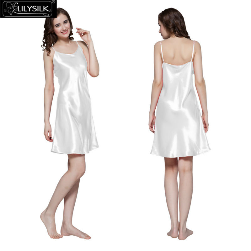 1000-white-22-momme-short-feminine-silk-nightgown
