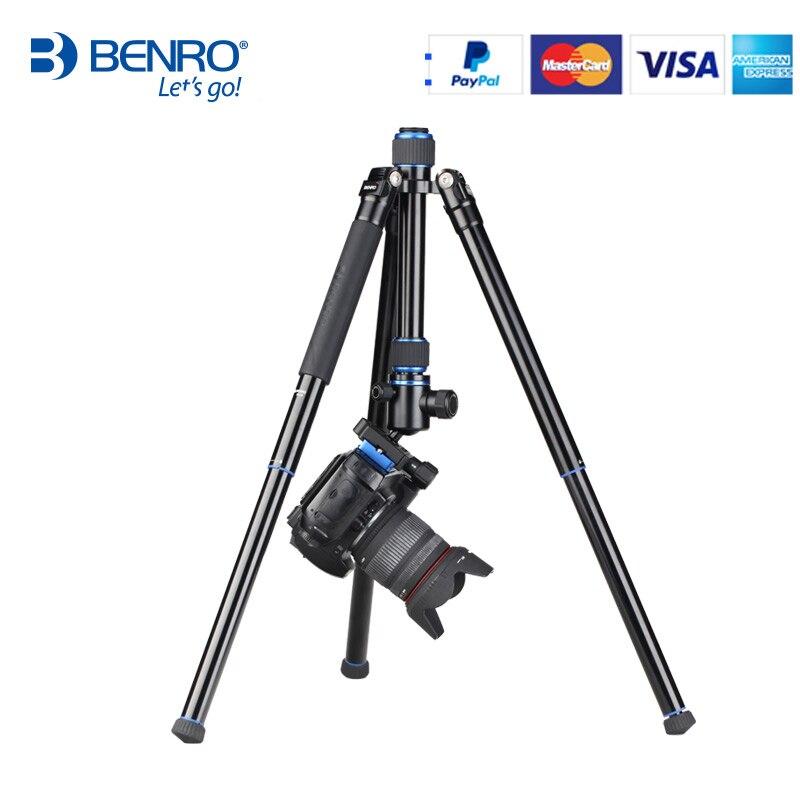 Benro PA19AK En Aluminium lumière voyage trépied pour Caméra mini trépieds