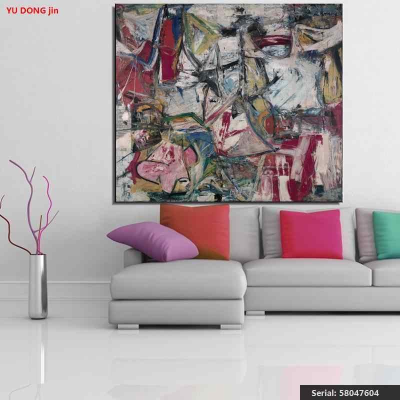 William Kooning nature morte Peinture à l'huile Classique Dessin art de Toile sans cadre de fil de cuisine carré children58047604