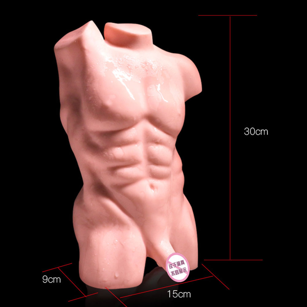 Gay. Masturbateur modèle inverse solide pour homme. Produits sexuels pour adultes. Simulation pénis. Simuler les organes anaux. Sexy mannequin - 5