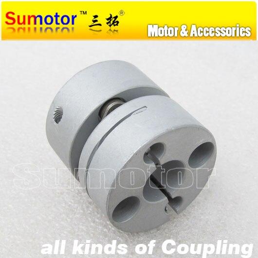 CNC parts OD 26mm L 24mm, Bore 5*5mm 6*6mm 6.35*6.35mm 8*8mm 10*10mm, for servo Stepper Motor flexible diaphragm Coupler 10 5 8 5 24 871580