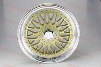 17 RS STYLE SILVER MESH RIMS WHEELS FITS BMW 3 SERIES W881