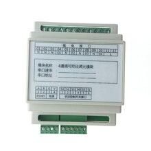 4 canal escurecimento thyristor módulo RS485 Modbus