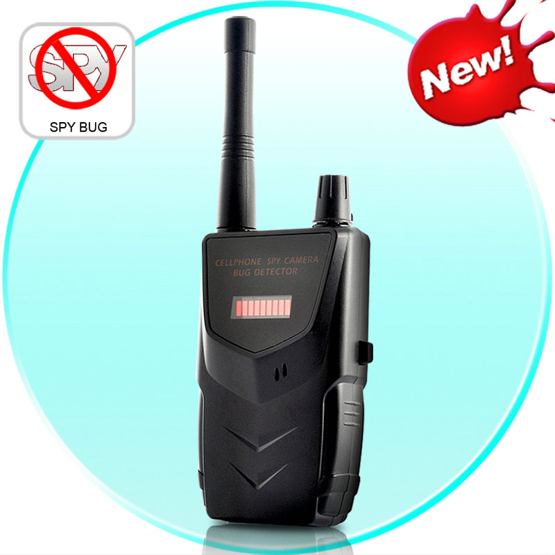 Wireless RF Detector Cell Phone Buster Mobile Phone Wireless Camera Signal Detector Wifi Finder 007B Free Shipping Hot sale 2017 hot sale q7 handheld mobile phone ktv home mini karaoke wireless bluetooth 4 0 microphone speaker free shipping