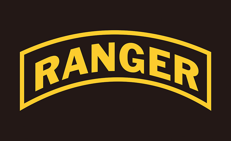 new 3x5 ranger army ranger flag in flags banners accessories rh aliexpress com Delta Force Logo us army rangers logo