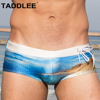 70ea3529e9073 Taddlee Brand Sexy Men's Swimwear Swimsuits Swim Boxer Briefs Bikini Gay  Penis Pouch WJ Pad Enhance Surf Board Trunks Shorts New