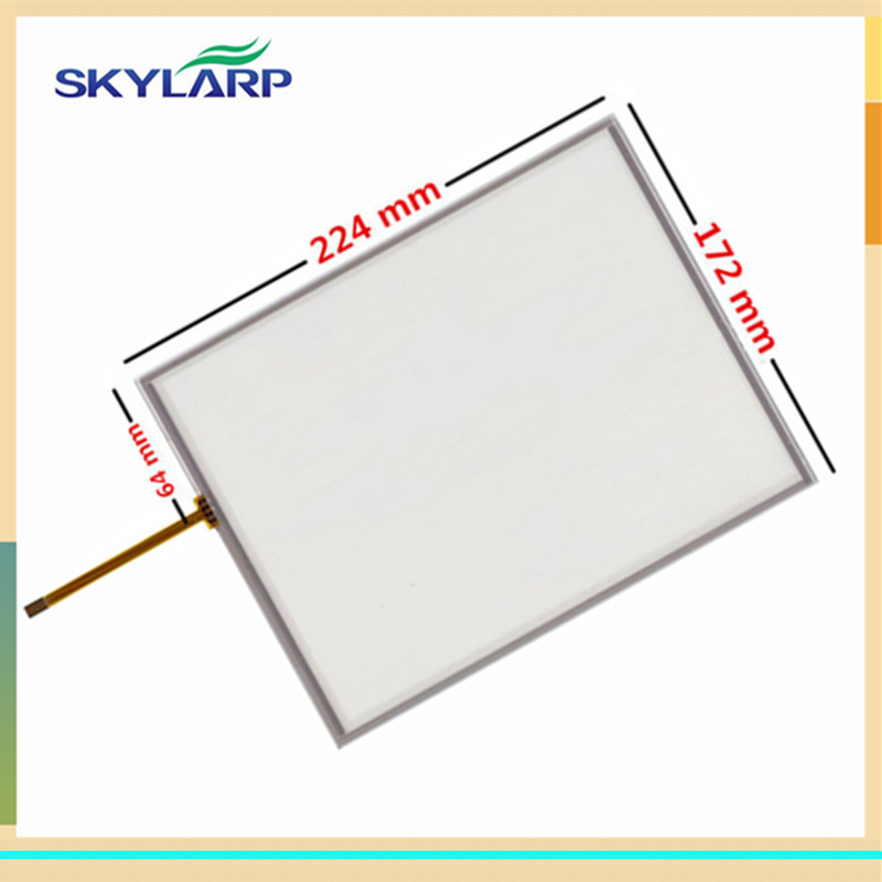 skylarpu 10.4 inch 224*172mm 224mm*172mm 4 wire Resistive Touch Screen AMT9105 B Digitizer glass panel new10 4 inch 4wire resistive touch screen panel for ht104a nd0a152 ht104a 223 172mm touch panel glass