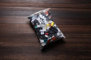 Image 2 - grab bag all random about 600g one pack oem cherry dsa sa r1 r2 r3 r4 profile laser etched dye sub dip dye tech random package