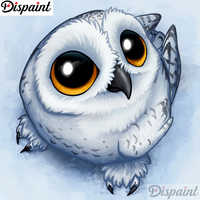 """Dispaint Full Square/Round Drill 5D DIY Diamond Painting """"Animal owl scenery"""" 3D Embroidery Cross Stitch 5D Home Decor A11664"""