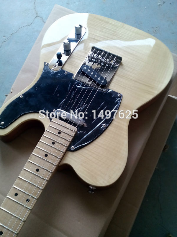 Electric guitar Wholesale new tl custom shop electric guitar with maple flame top/oem guitar/guitar in china