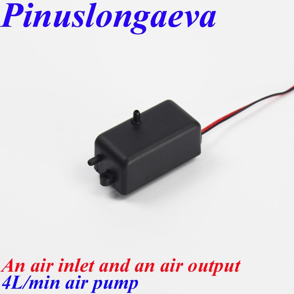 Pinuslongaeva Factory outlet 4 8 15 25L/min DC12V DC24V AC220V AC110V Air compressor Aquarium oxygenator air pump ozone parts