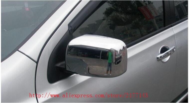 ABS Chrome Rétroviseur Rétroviseurs Couverture Porte Latérale Rétroviseurs Couverture garniture 2 P/ensemble Pour 2008 2009 2010 2011 2012 2013 Nissan X-TRAIL