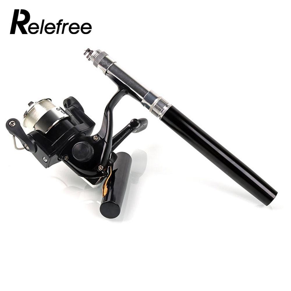 5 Color Practical Mini Carbon Fishing Rod Fishing Pole Pen Portable Durable Casting Rod Fishing Tackle Mini Feeder Fishing