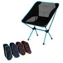Mochila compacta dobrável para acampamento, cadeiras leves para camping, caminhadas ao ar livre, praia, pesca, trilhas piquenique, viagem