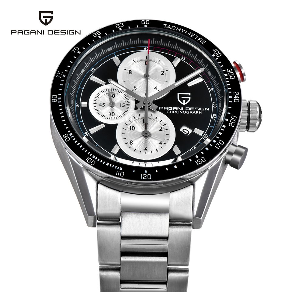 PAGANI ONTWERP Luxury Brand Militaire Horloge Mannen 50 M Waterdichte Sport Quartz Horloge Kalender Klok Man Saat Relogio Masculino-in Quartz Horloges van Horloges op  Groep 3