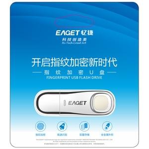 Image 5 - Eaget USB flash jazdy 64 GB 32 GB USB 3.0 Pen Drive 64 GB linii papilarnych szyfrowania metalowe Pendrive pamięć USB 32 GB do przechowywania dysku Flash