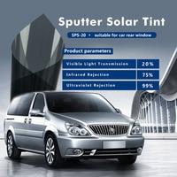 1.52x20m Sputter Solar tint film low reflective window solar film UV IR rejection heat insulaiton for car window building glass