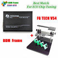Mejor Partido FG TECH FgTech V54 + Adaptador Marco de BDM V54 Galletto 4 ECU Chip Tuning Programador de Dhl gratis