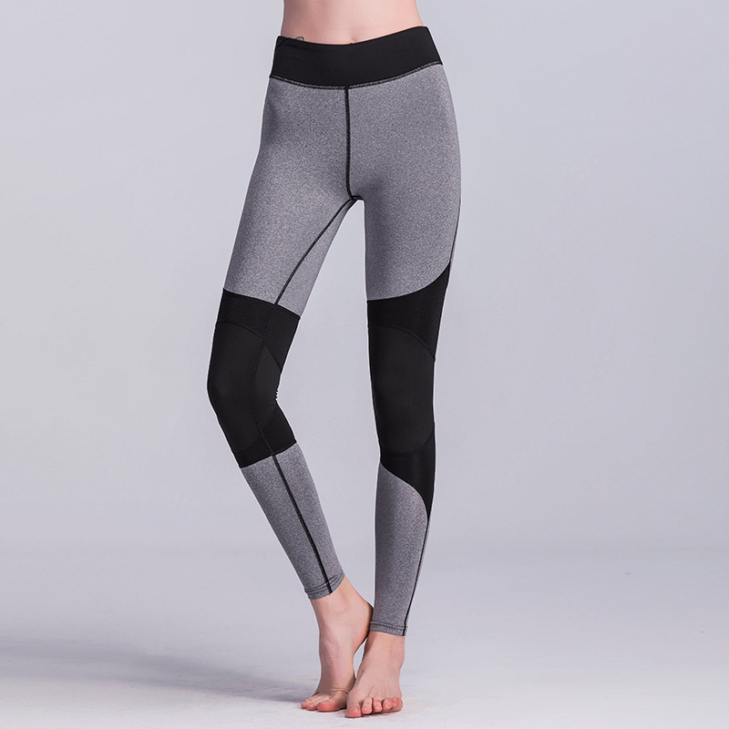 VVUES Yoga Pants Womens Patchwork Fitness Running Tights Exercise Gym Training Sports Leggings Drop Ship