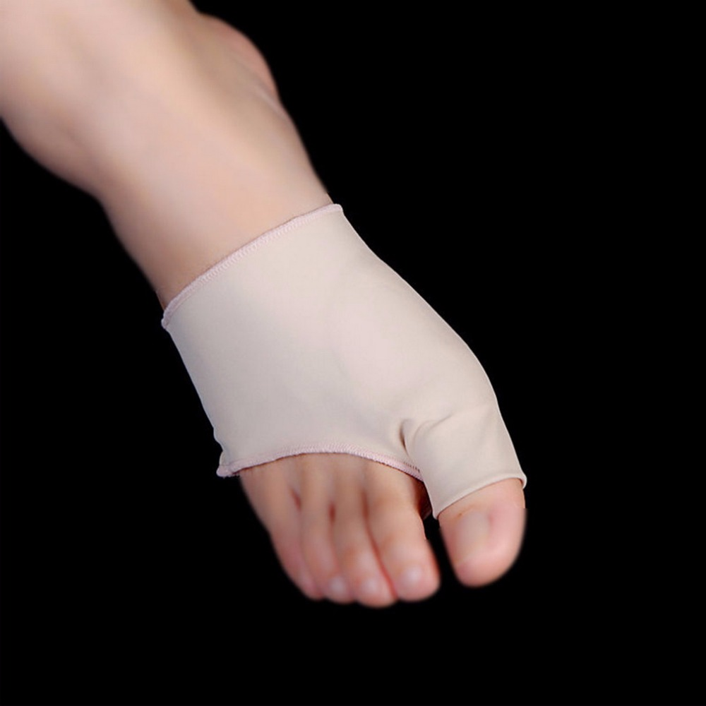 1Pair Big Little Toe Separator Hallux Valgus Varus Straighteners Bunion Corrector Sock Feet Care Tool Bunion Relief Correction