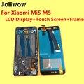De alta qualidade para xiaomi mi5 m5 display lcd + touch screen + quadro + ferramentas digitador de vidro da lente de substituição assembly dar silício caso