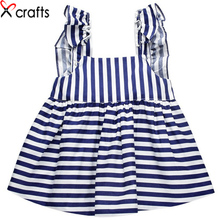 Summer girls Siamese babies European and American Princess Dress dress pure cotton quality baby conjoined clothes