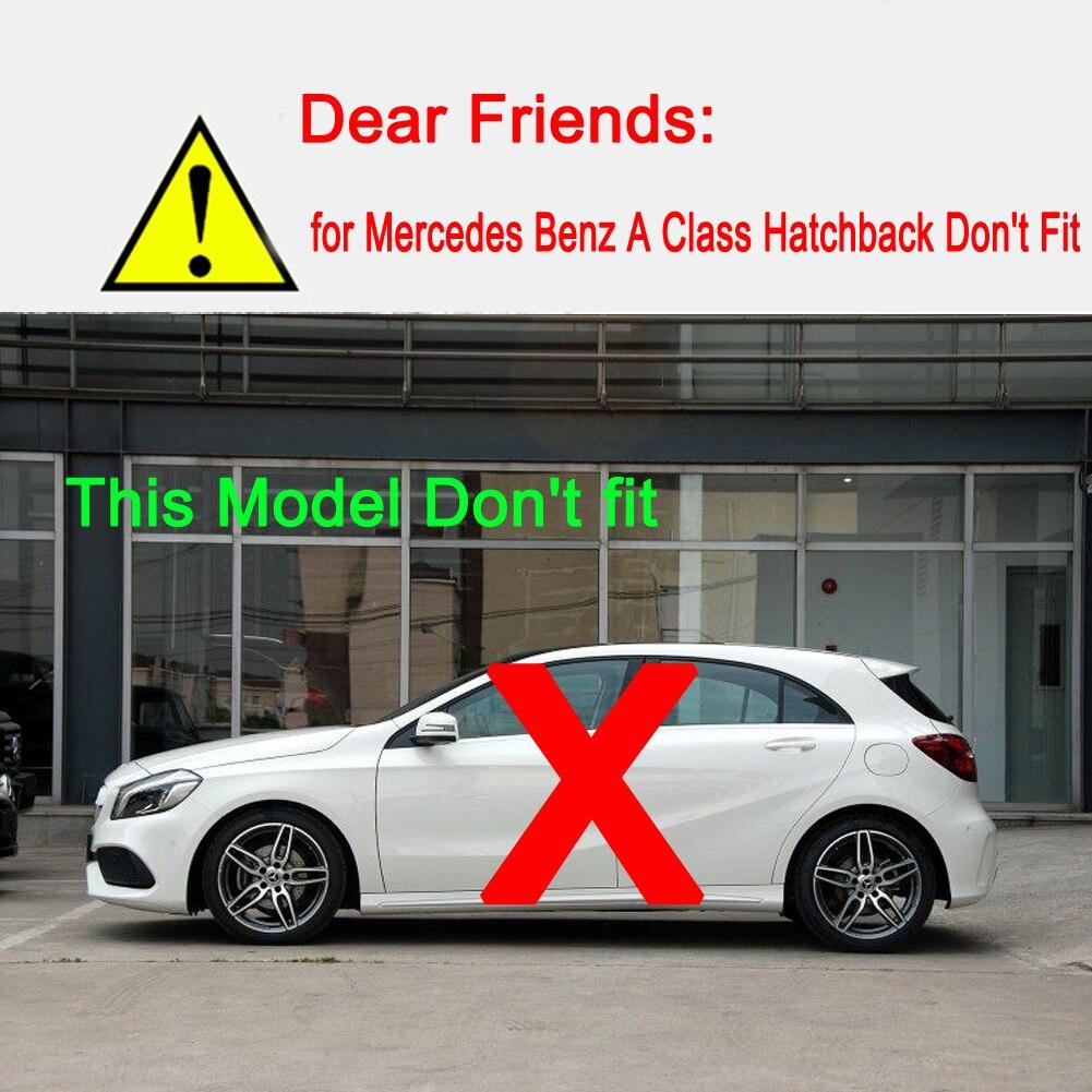 Pour Mercedes Benz A classe W177 V177 A180 A200 A220 A250 voiture moteur isolation coton capot capot accessoires en coton insonorisé - 6