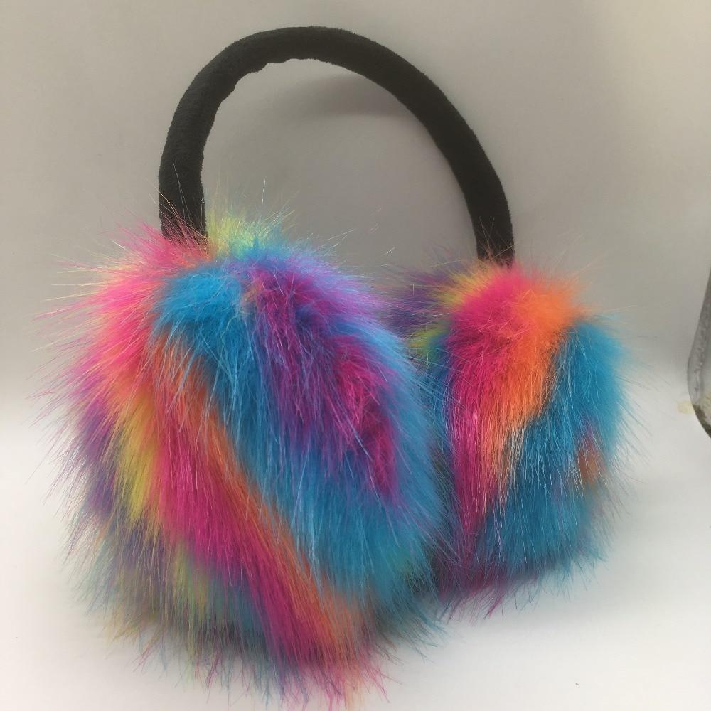Latest Winter Faux Fur Earmuffs Women Fashion Ear-muffs Outdoor Warm Earflap