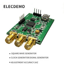Square wave generator three-channel signal clock module 8K-100M high precision