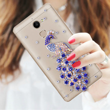 07 павлин кристалл bling case for asus zenfone 3 макс zc520tl x008d