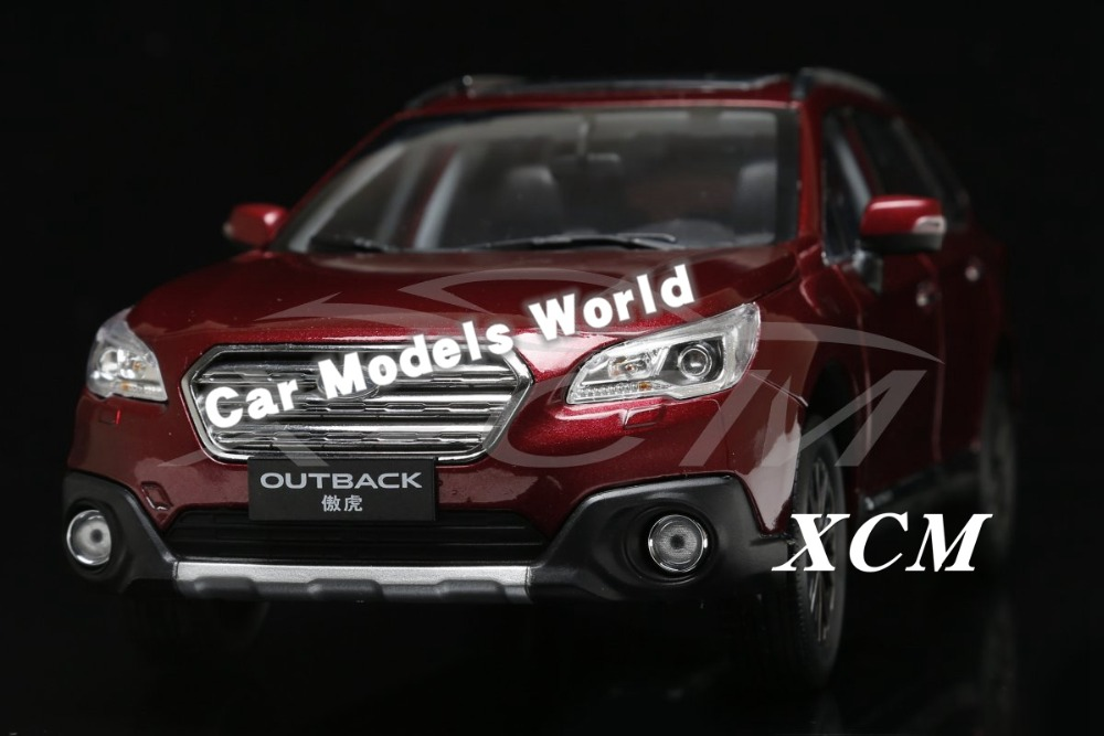 Diecast Car Model for Outback 1 18 Red SMALL GIFT