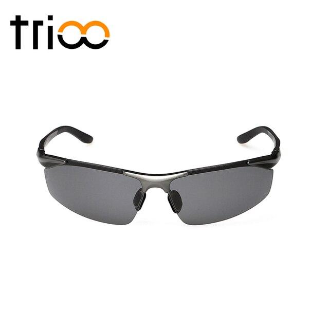 Aluminum Polarized Mirror Sun Glasses Box UV400 Lens Cool Metal  Frame Oculos Eyewear Accessories Fashion Rimless Sunglasses