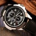 2016 YAZOLE Спортивные Часы, Мужские Часы Лучший Бренд Класса Люкс Известный Мужской Часы Кварцевые Часы кожа Кварцевые часы Relogio Masculino