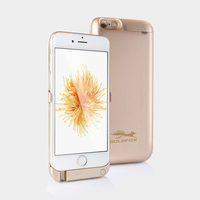 For Iphone 6 6s Battery Charger Case 5000mAH External Backup Battery Case Power Bank Pack Charge