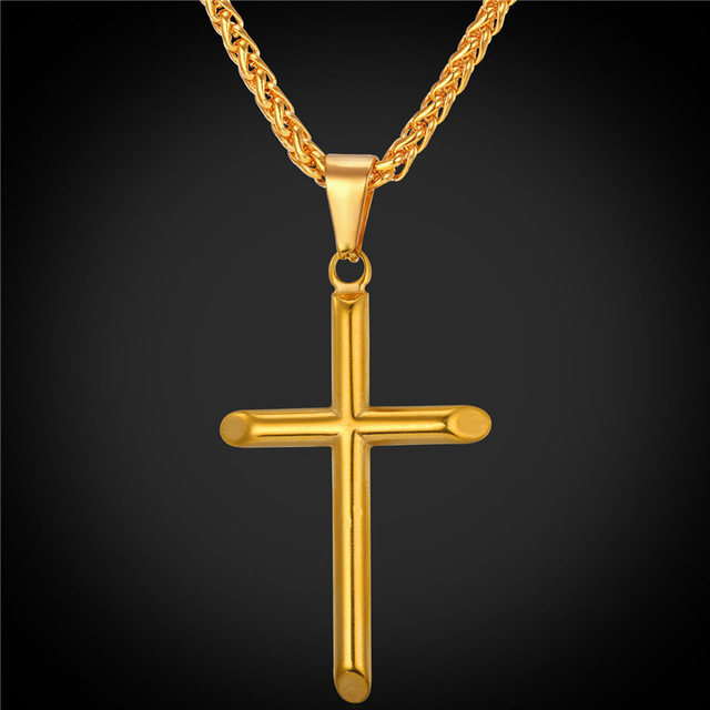 Cross Necklace For MenWomen Religious Christian Jewelry Gift