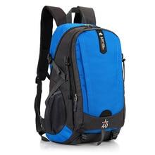 Купить с кэшбэком New Backpack Nylon Waterproof Casual 40L Climbing Bags Sport Camping Backpack High Capacity Travel Bags Laptop Bag For Teenage