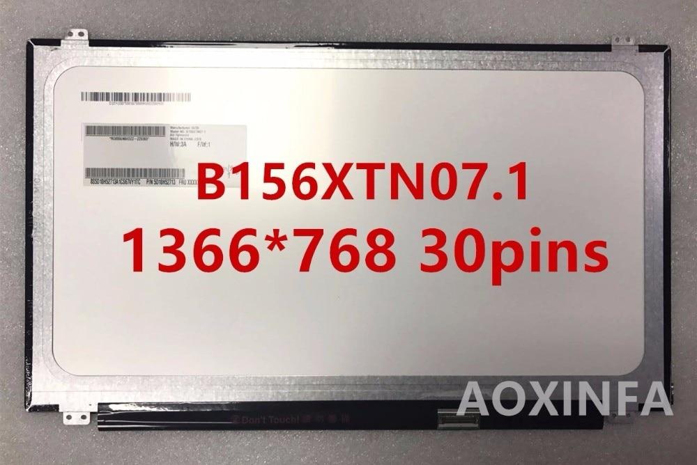 15.6'' Laptop slim lcd led matrix screen B156XW04 V.5 B156XTN07.1 B156XTN03.3 N156BGE-EB1 N156BGE-E31 LP156WHU TPA1 B156XTN03.1 new original auo laptop lcd led screen b156xw04 v0 b156xw03 ltn156at11 lp156wh3 n156bge lb1 n156b6 l0d