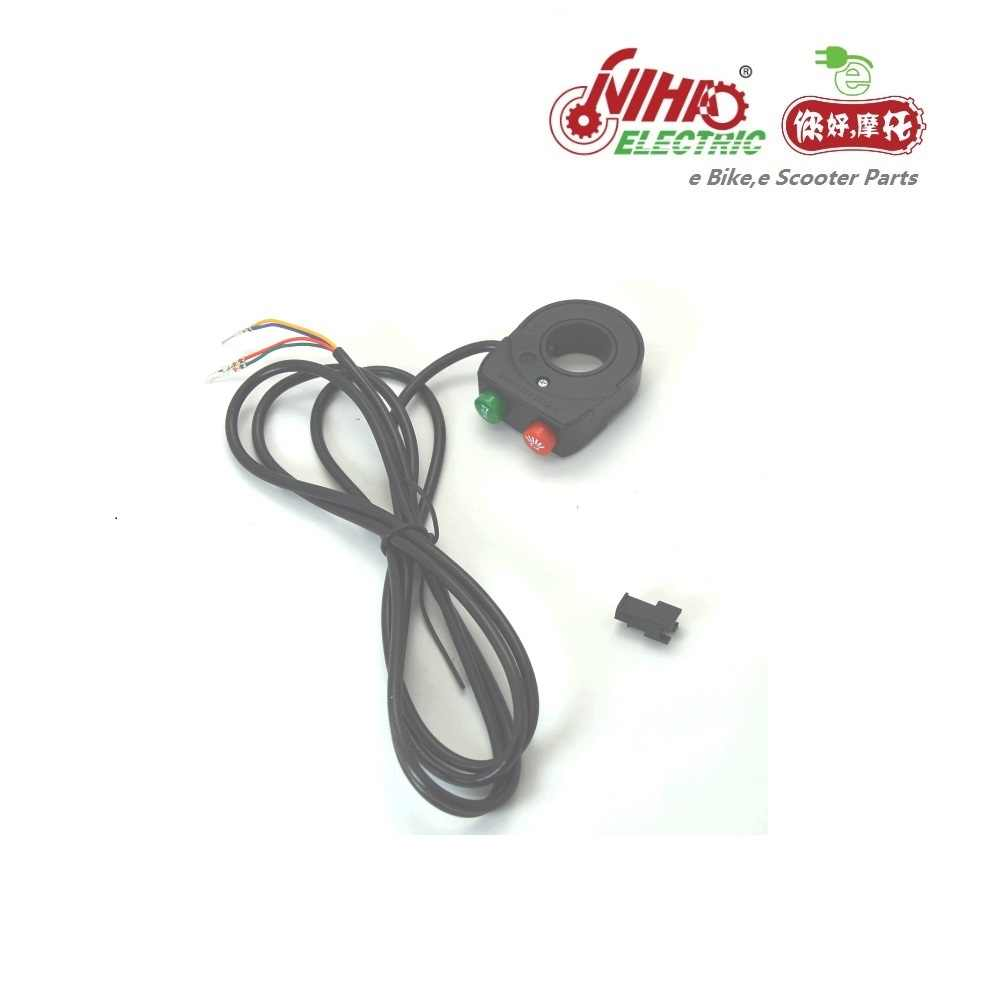 20 Ebike Parts Horn Speaker Switch and Headlight Button ebike Electric